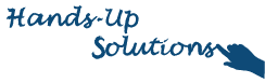 Hands-Up Solutions Mini Banner
